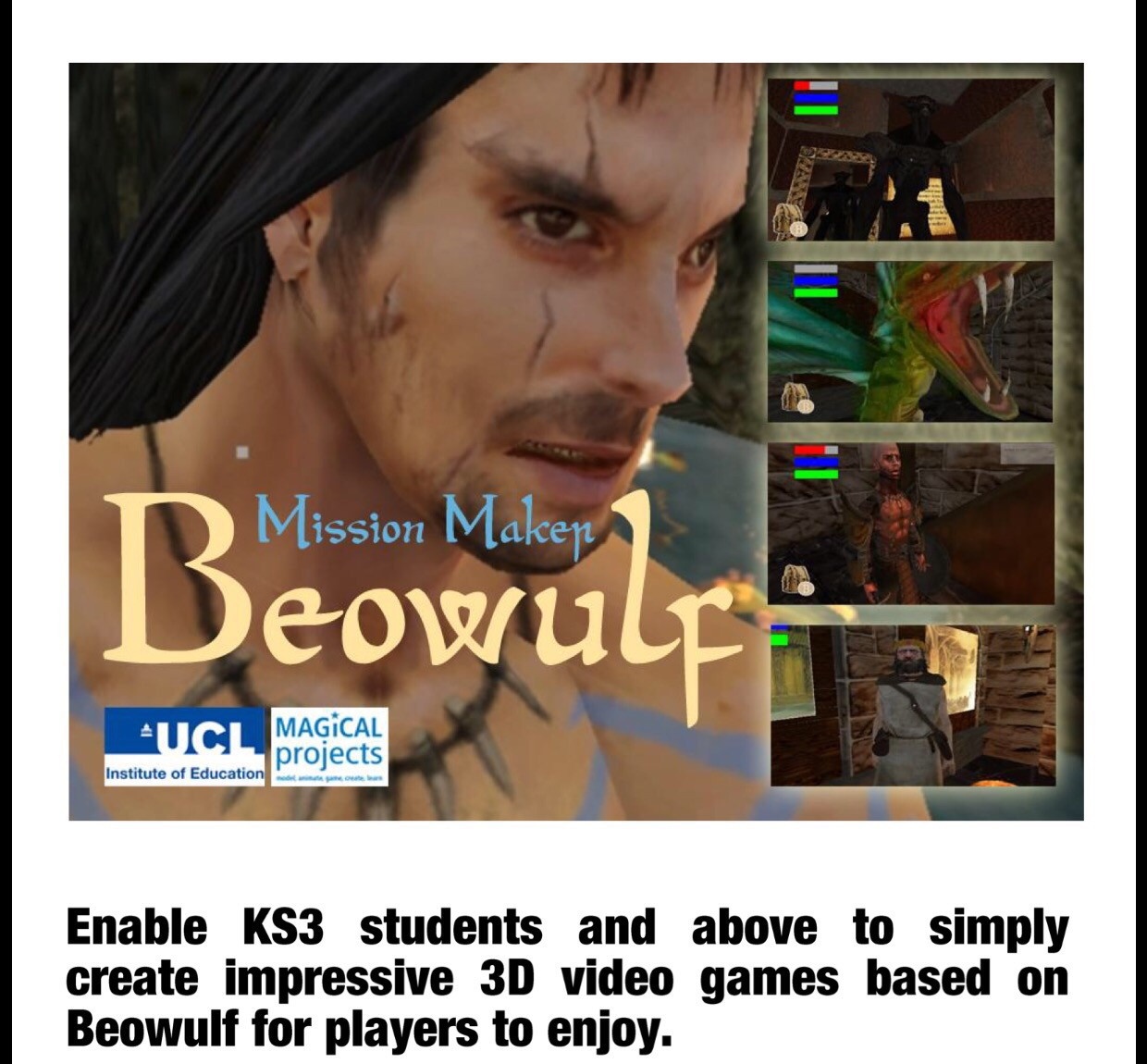 Beowulf at UCL Festival of Culture